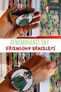 Mrs Mactivity - Remembrance day friendship bracelet