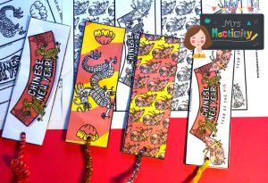 Mrs mactivity - Chinese new year bookmarks