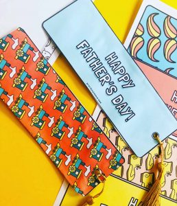 Mrs Mactivity - Father's Day bookmarks